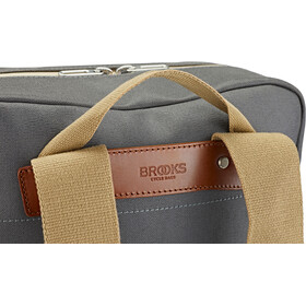 Brooks Pickzip Plecak Płótno 20l, grey/honey